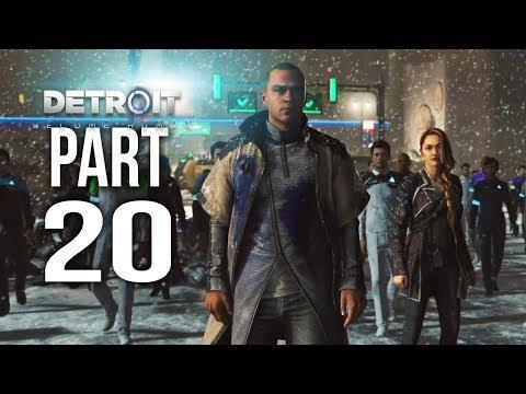 DETROIT BECOME HUMAN Part 20 | Le Miserable | Gameplay Walkthrough