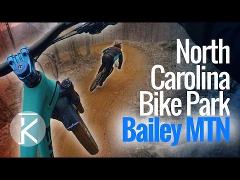 Downhill Laps at Bailey Mountain Bike Park | Thrills with Phil