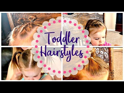 Quick & Easy Toddler Hairstyles To Keep Hair Out Of Her Face