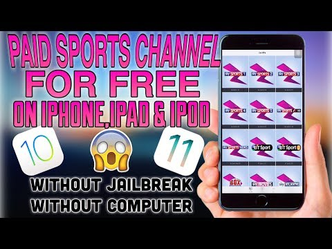 HOW TO WATCH ALL PAID SPORTS CHANNELS FOR FREE ON IPHONE/IPAD!!!