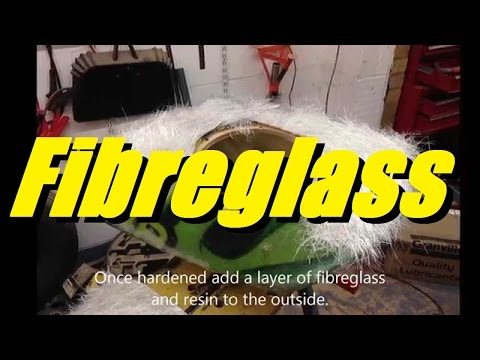 [EASY] How to fibreglass / fiberglass a subwoofer enclosure