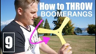 BEST Hobby EVER How To Throw A BOOMERANG Learn Here Day 9