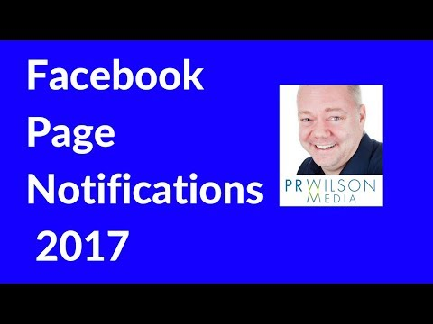 Notifications from Facebook pages you like 2017