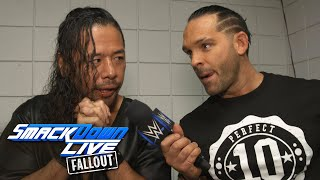 "Tye Dillinger celebrates ""Perfect 10 Day"" with the locker room: SmackDown LIVE Fallout, Oct 10, 2017"
