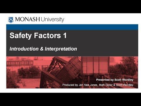 Safety Factors 1