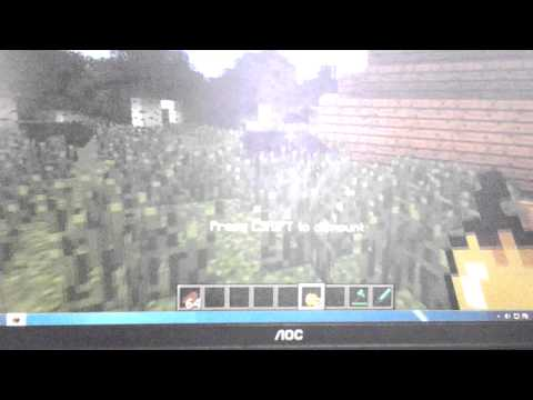 Minecraft How to breed horses the easy way