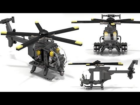 How To Build  Lego MH-6 Little Bird