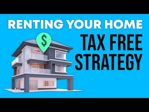 Renting Your Home Tax Free Strategy