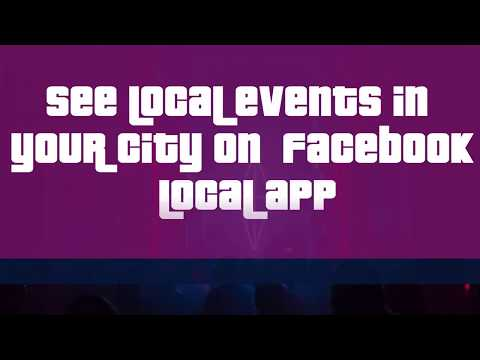 See Local Events In Your City On Facebook Local App
