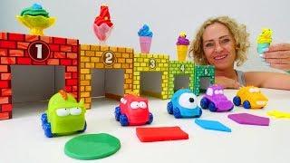 Spielzeug Kindergarten mit Nicole. 3 Kindervideos am Stück.