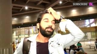 Rajkumar Rao and Patralekha Spotted At Airport