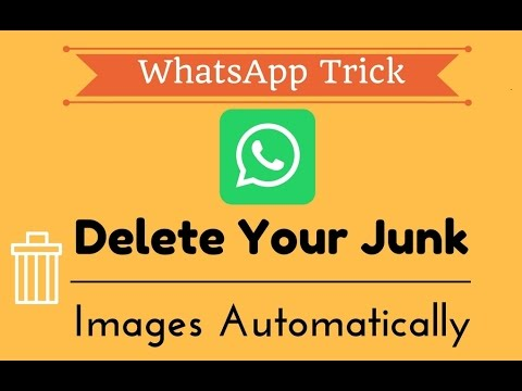 How to Delete the Useless Photos in your WhatsApp Automatically | 2017