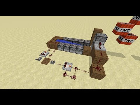 how to make a Rapid fire TnT cannon ... TnT wars