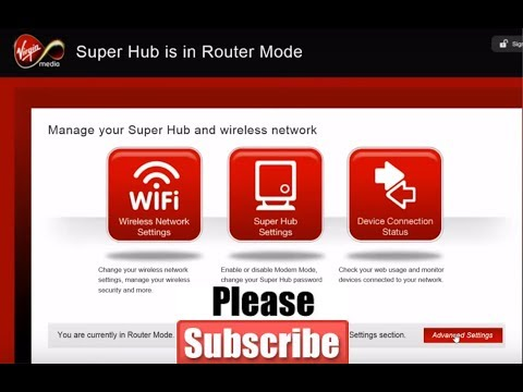 Speed up Virgin Media WIFI - Change Network Name / Password