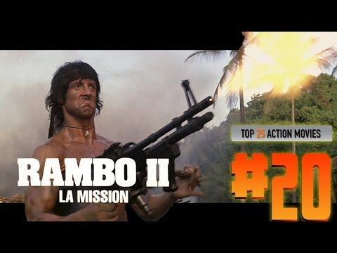 Top 25 Action Movies #20 RAMBO 2 - LA MISSION
