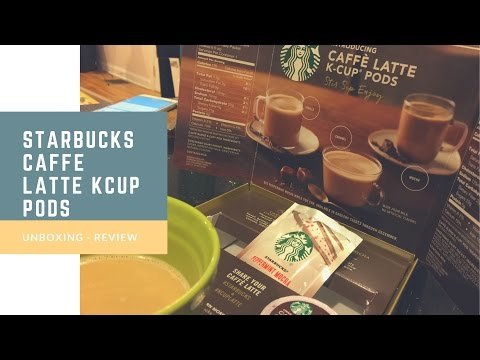 Starbucks Caffe Latte Kcup Pods Review