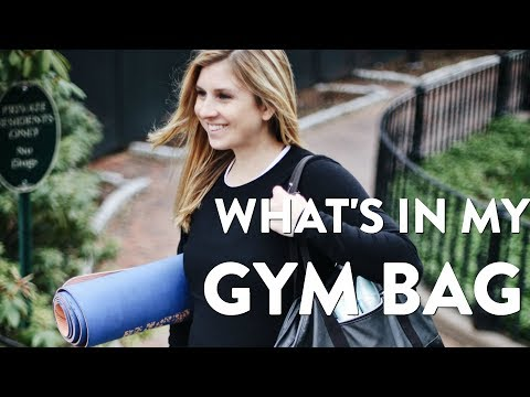 What's In My Gym Bag + How I Stay Motivated to Workout | 2018 UPDATED HAUL