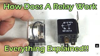 How Does A Relay Work - SPDT DPDT SPST Automotive Relay