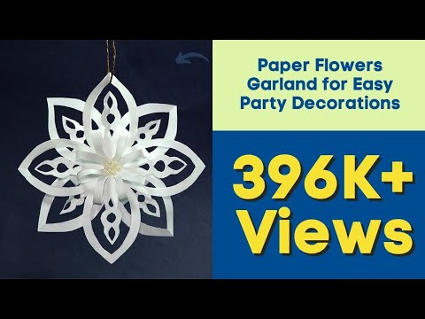 How to Make Paper Snowflakes? Easy DIY Christmas Decoration Ideas