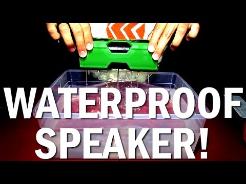 How to Make A Speaker Waterproof? Like This Apparently! | ModestBox