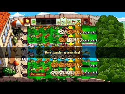 Plants Vs Zombies - Xbox 360 - Survival Pool Hard Part 3