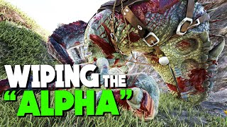 Wiping the alpha tribe! | VsPVP: This is ARK! | ARK: Survival Evolved | S4:EP19