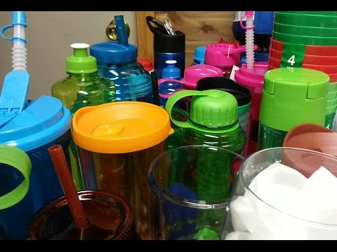 Dollar Tree Cups to vinyl with the Cricut Explore