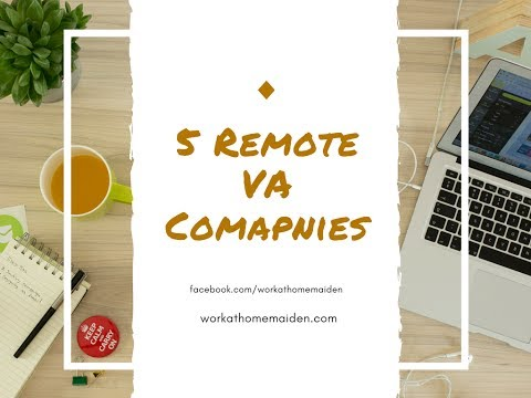 5 Virtual Assistant Companies that Hire Remote Workers