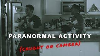 Paranormal Activity (caught on camera) | David Lopez