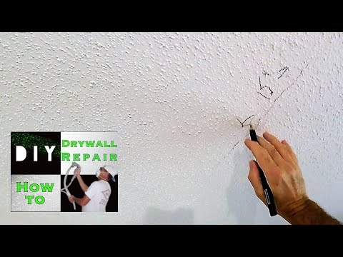 How to repair your cracked drywall ceiling with this trick | So that crack never comes back!
