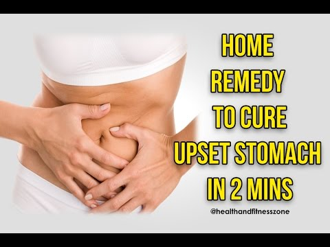 DIY | CURE UPSET STOMACH/STOMACH CRAMPS | STOMACH PAIN IN JUST 2 MINS | Health and Fitness Zone