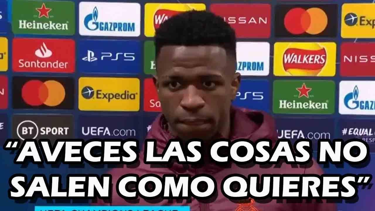 DECLARACIONES DE VINICIUS JR TRAS SER ELIMINADOS CONTRA EL CHELSEA FC EN CHAMPIONS LEAGUE