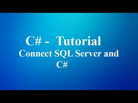 How to Connect  Database using C#