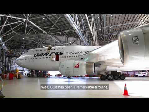 Boeing 747 OJM Retirement