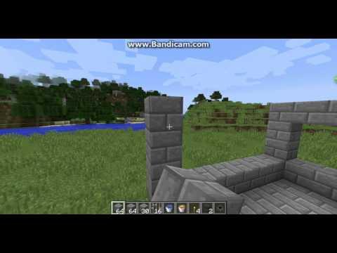 Minecraft how to make a Mini Blacksmiths