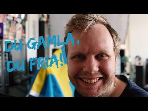The Swedish national anthem | Nationalsången