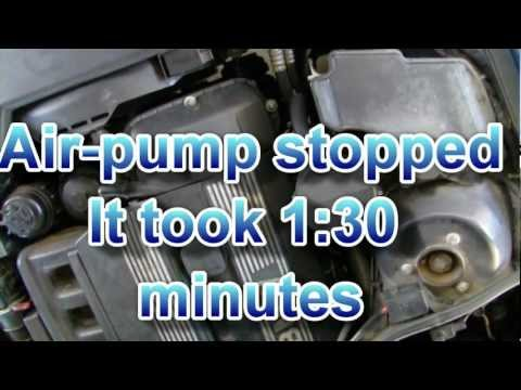 Secondary air pump noise BMW normal sound cold start @ 110,000 miles
