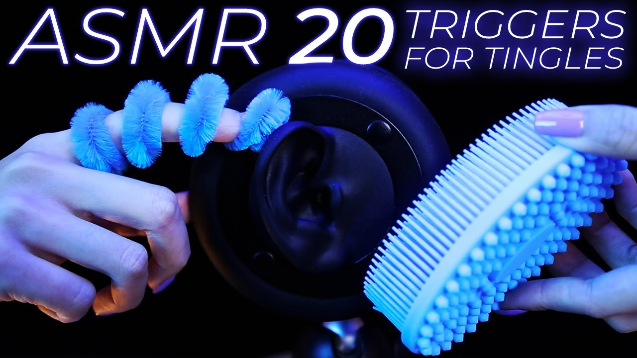 ASMR 20 Triggers for People Who NEVER Had Tingles (No Talking)