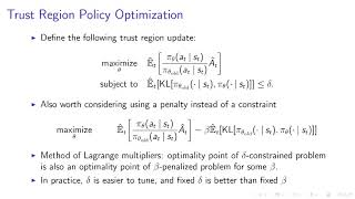 Deep RL Bootcamp Lecture 4B Policy Gradients Revisited