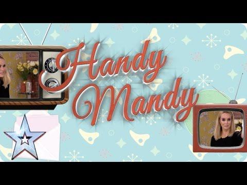 Handy Mandy solves a hairy problem   Britain's Got More Talent 2016