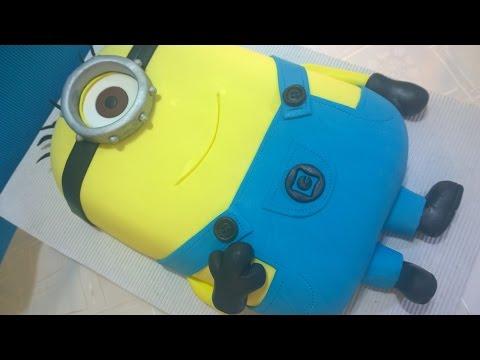 Torta Minions,  minions cake