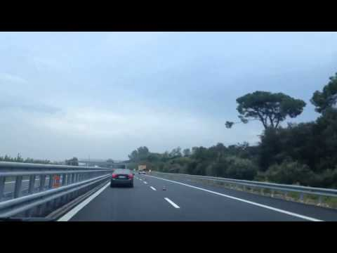 The Zoots taxi ride from La Spezia to Pisa airport