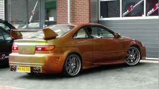 TOYOTA PASEO Fast and Furious Double exhaust by Maxiperformance