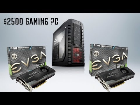 BEST $2500 High-End Gaming PC System Build - August 2012