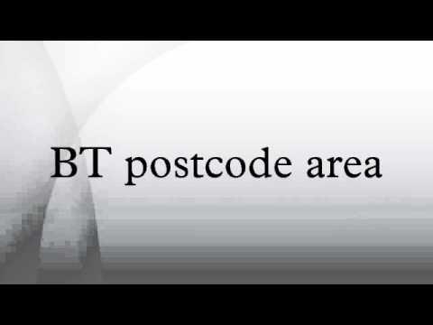 BT postcode area