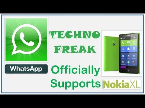 Install Whatsapp In Nokia XL, Nokia X, Nokia X+ & Nokia X2