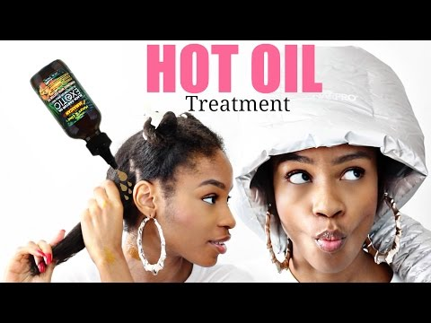 Best DIY Hot Oil Treatment for Natural Hair