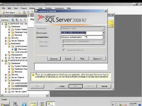 SQL Server 2005 Replication