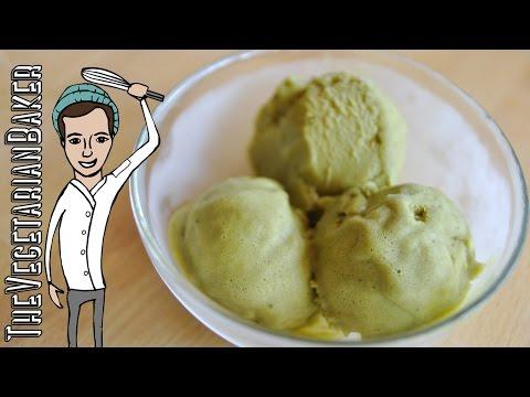 How To Make Vegan Matcha Green Tea Ice Cream | The Vegetarian Baker
