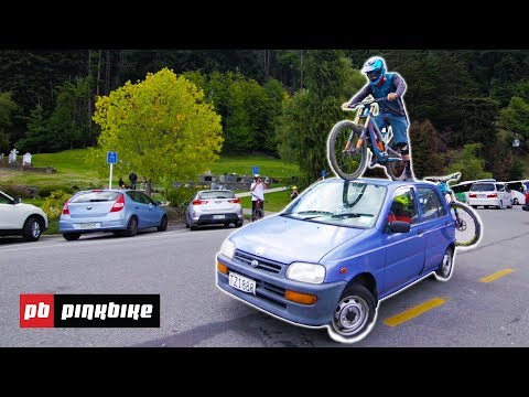 Sessioning Challenge in the Bike Park w/ The Vanzacs